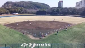日記球場風景