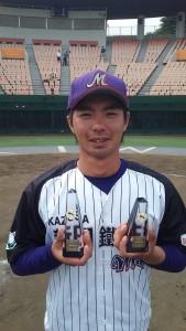 日記田中優秀選手 首位打者