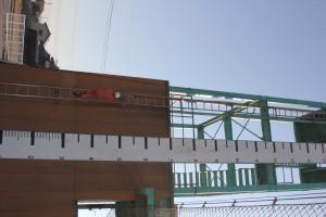 15メートル梯子登坂